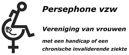 Persephone - Logo met tulp en tekst